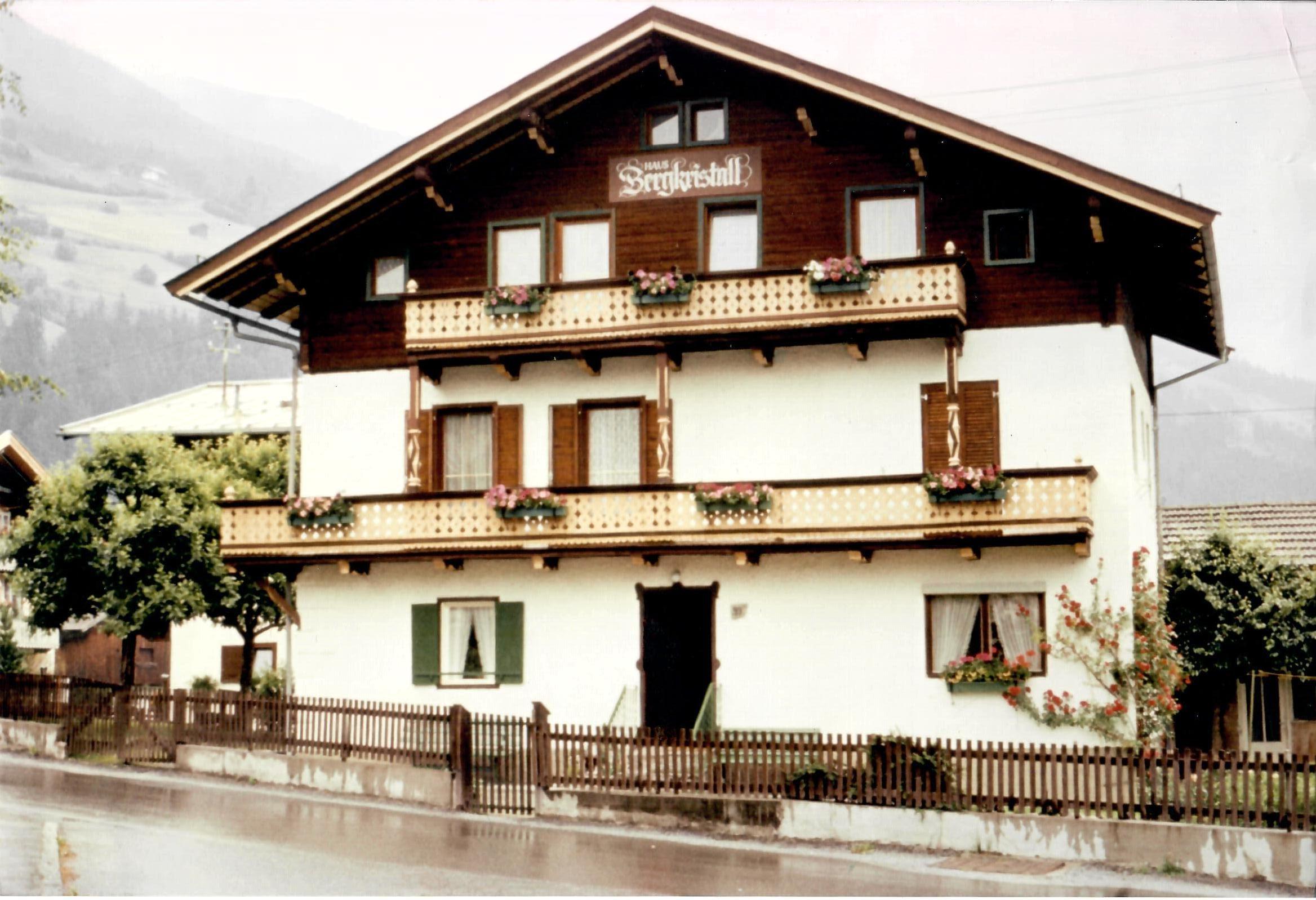 Haus Bergkristall früher